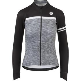 AGU Essential Blend Koszulka rowerowa z długim rękawem Kobiety, melange grey